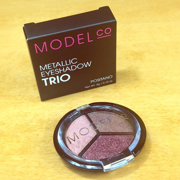 ModelCo Other - ModelCo 🌺 Metallic Eyeshadow Trio Positano NIB
